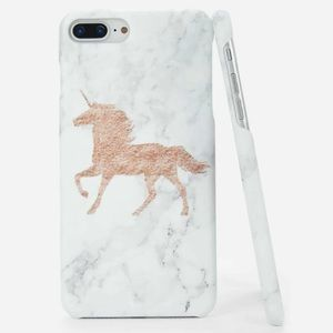 Accessories - Unicorn Marble Phone Case